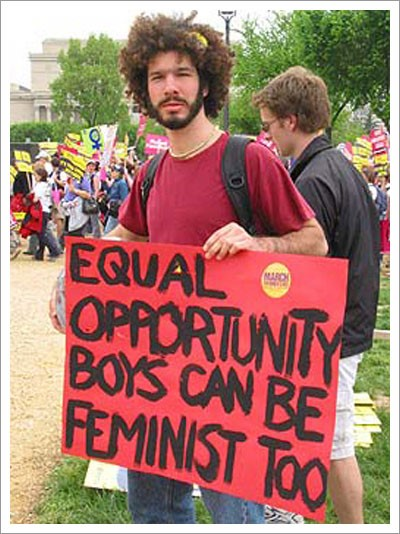 boys can be feminists